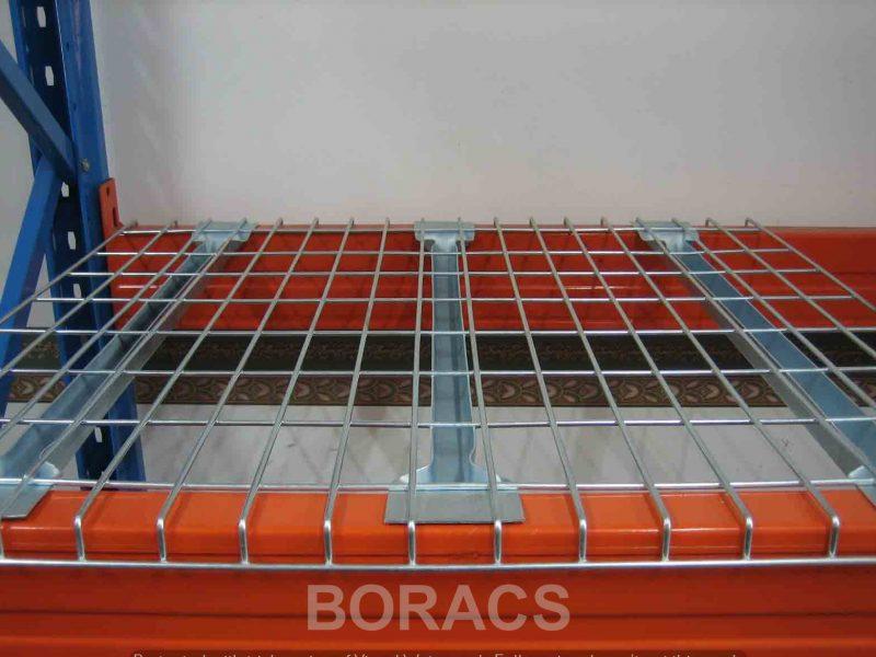 Mesh Deck front p1 web wm11 Plateaux fils cubierta de malla de alambre Stålnet hylde