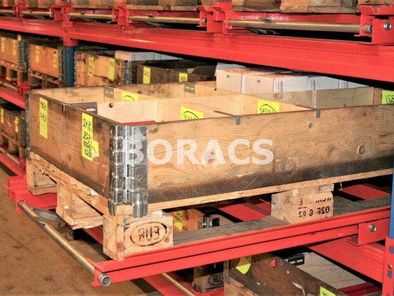 pallet rack pull out shelves flip wm11 Tiroir à palette Palettenregal-Extraktregale vetotaso kuormalavahyllyyn